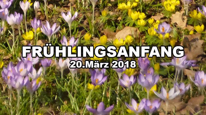 Frühlingsanfang 2018